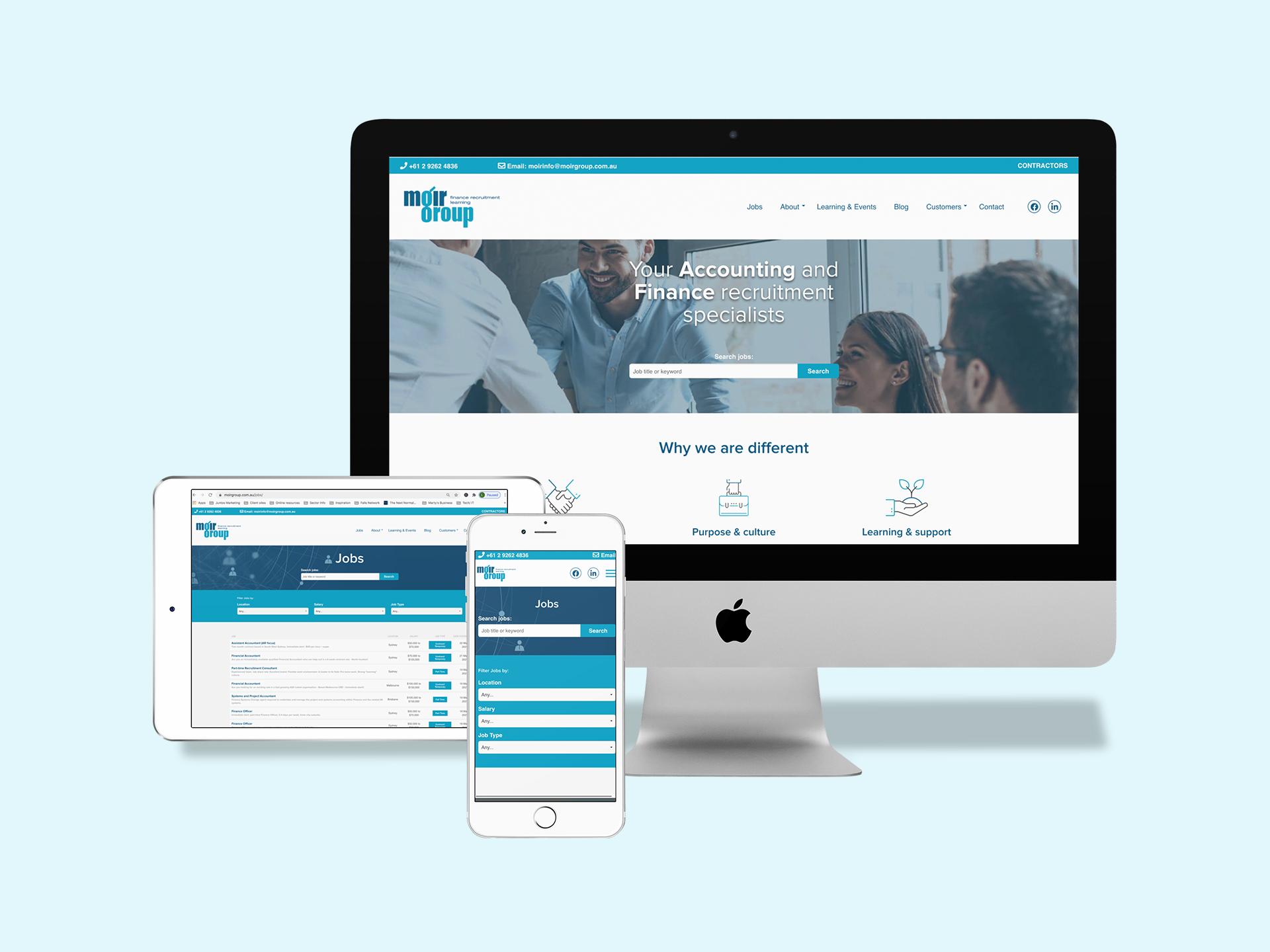 Moir Group e-learning portal