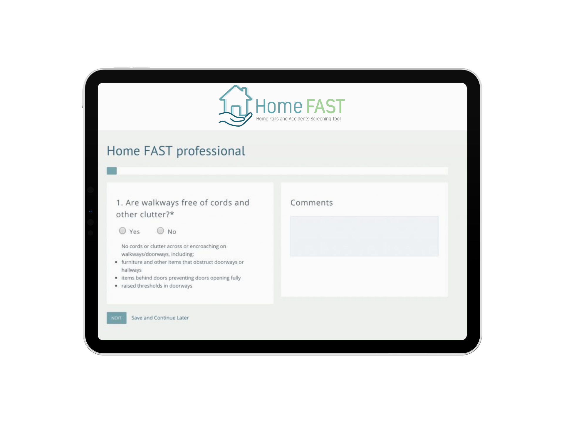 HomeFast e-learning portal